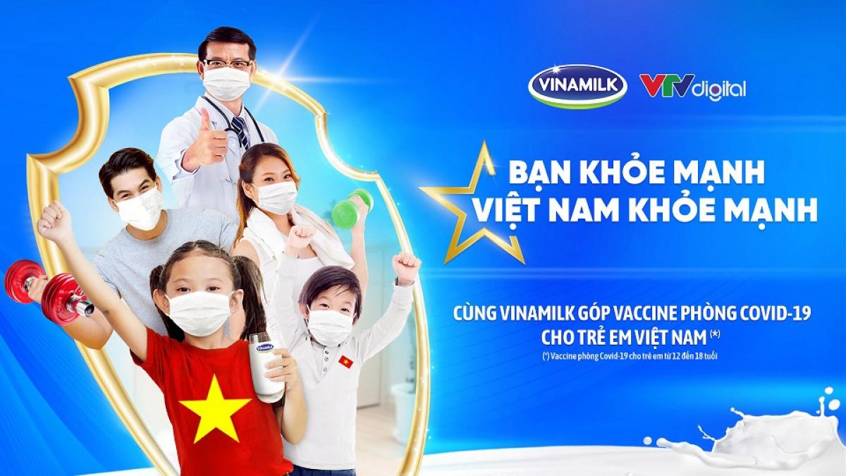 """Vinamilk khởi động Chiến dịch cộng đồng """"Bạn khỏe mạnh, Việt Nam khỏe mạnh""""."""