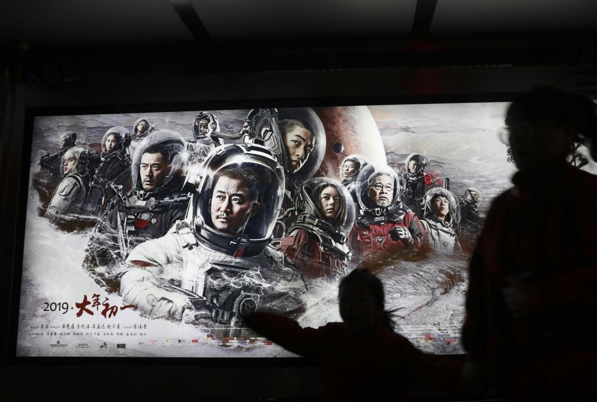 """Bộ phim khoa học viễn tưởng Trung Quốc """"The Wandering Earth"""" đạt thành công ngoài mong đợi. Nguồn: Simon Song"""