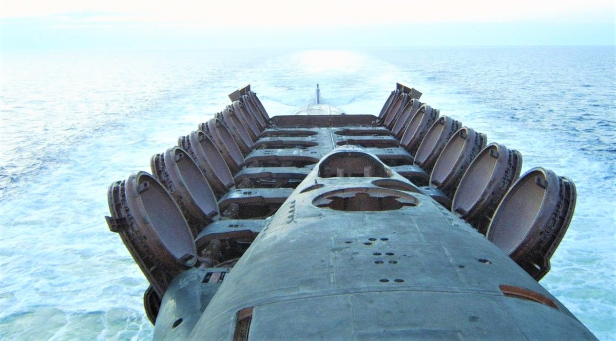 Tàu ngầm tên lửa hạt nhân có khả năng cơ động đáng kể; Nguồn: reddit.com