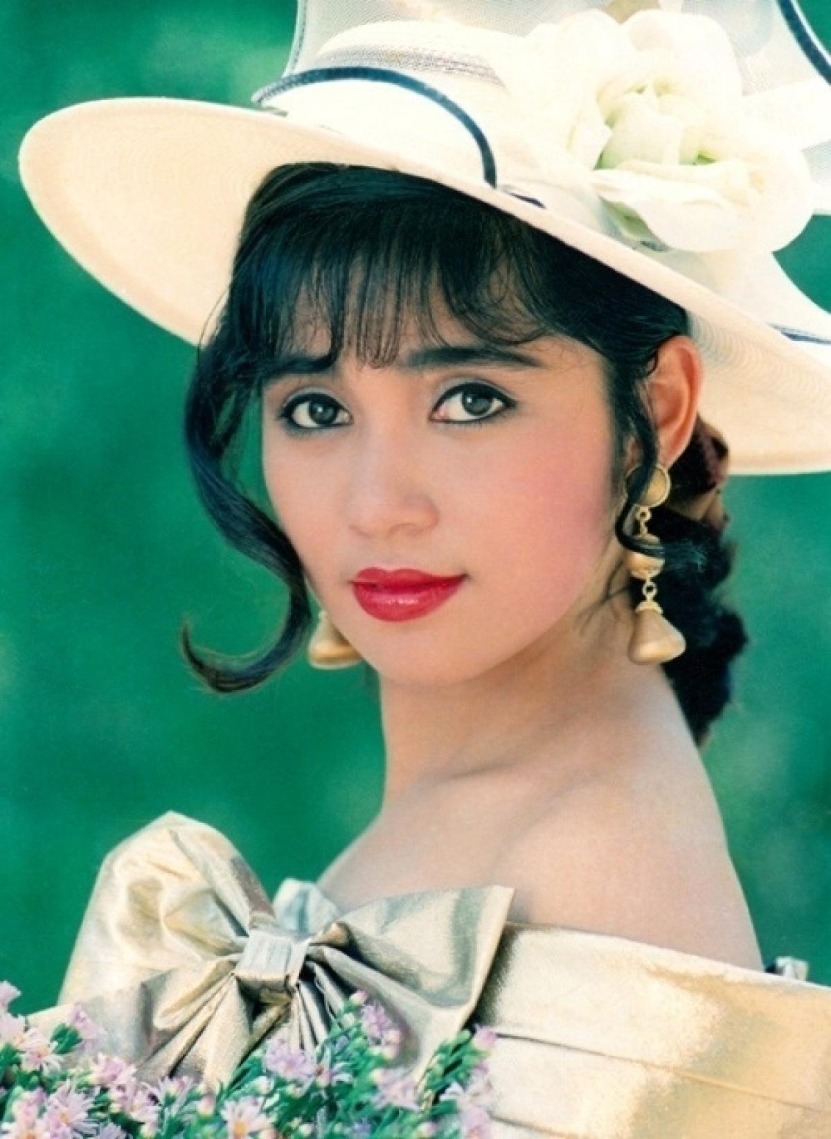 Diễn viên Việt Trinh thời trẻ.