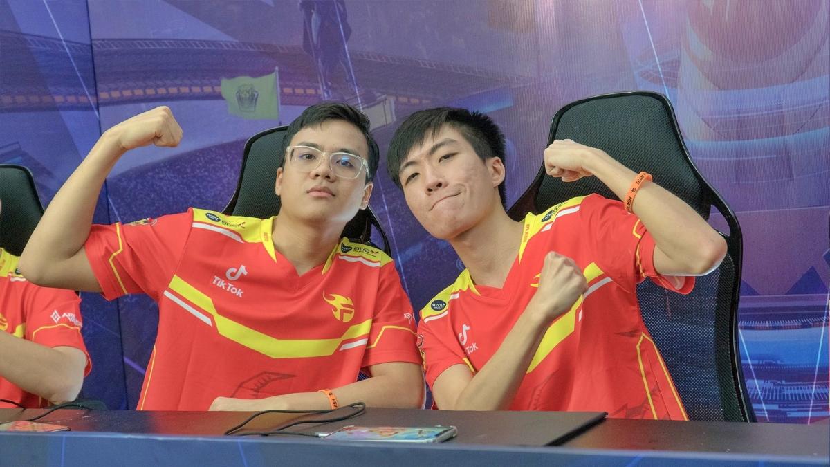 Team Flash suýt chút nữa có perfect game trước đại diện đến từ Đài Bắc Trung Hoa - MAD Team ở bảng A tử thần tại AWC 2021. (Ảnh: Team Flash).