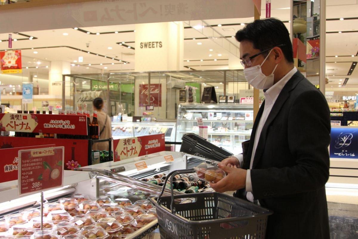 Hầu hết các khách hàng Nhật Bản khi được hỏi về quả vải Việt Nam đều cho rằng hương vị rất tuyệt vời, ngon và có phần hơn so với quả vải nhập khẩu từ một số nước khác.