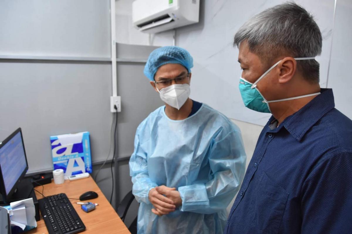 Thứ trưởng Nguyễn Trường Sơn dẫn đầu đoàn công tác của Bộ Y tế kiểm tra việc triển khai phòng, chống dịch COVID-19 tại tỉnh Đồng Nai.