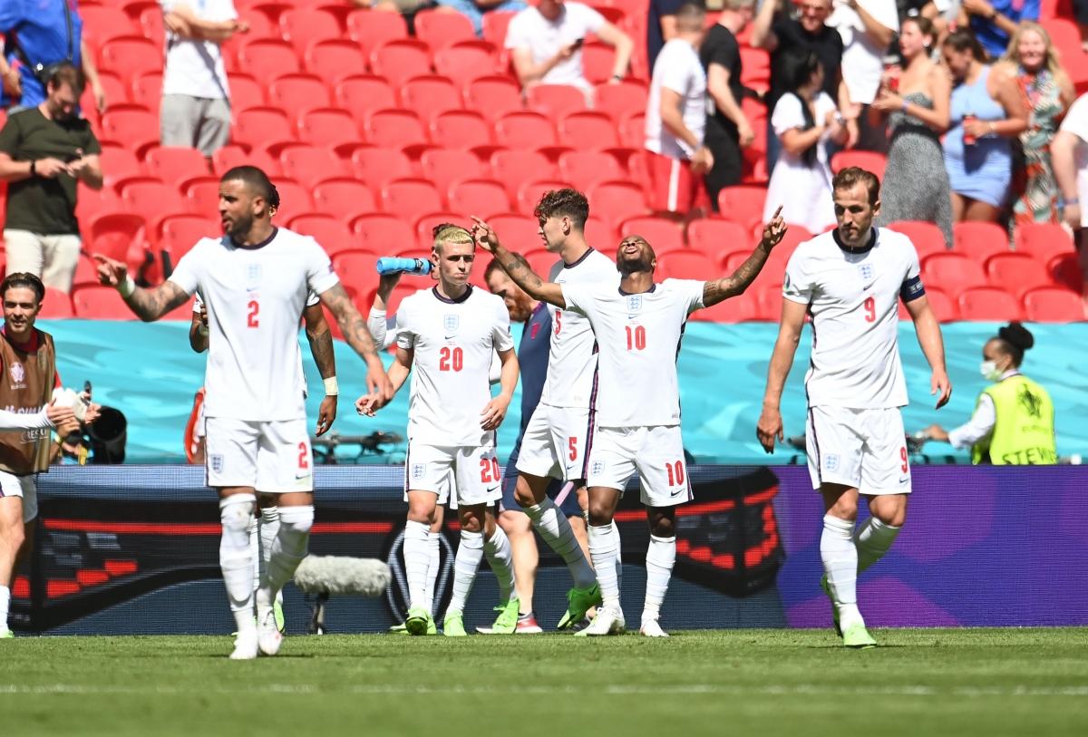 ĐT Anh giành chiến thắng 1-0 trước Croatia. (Ảnh: Reuters).