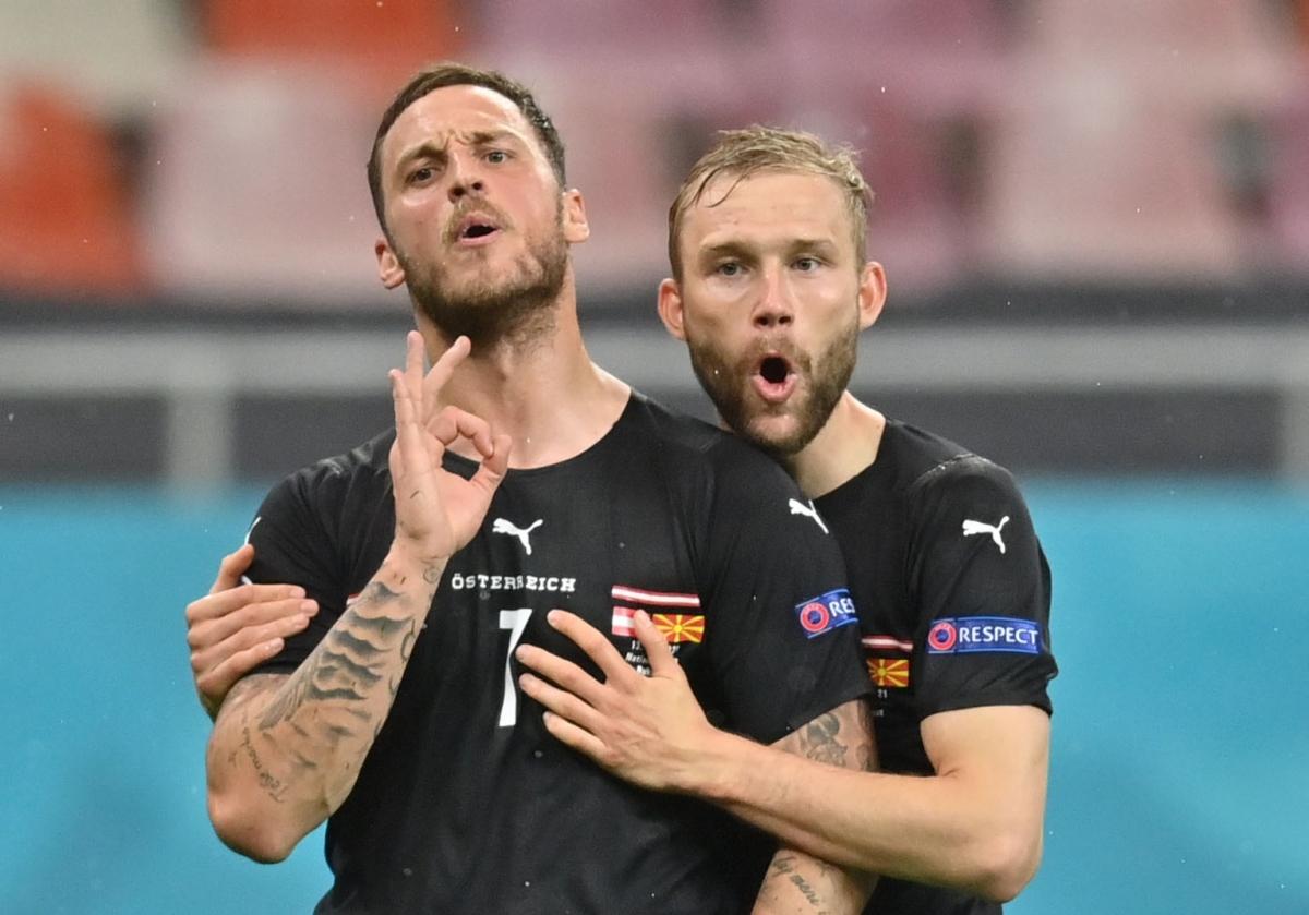Chiến thắng xem như đã nằm trong tay Áo. (Ảnh: Reuters)