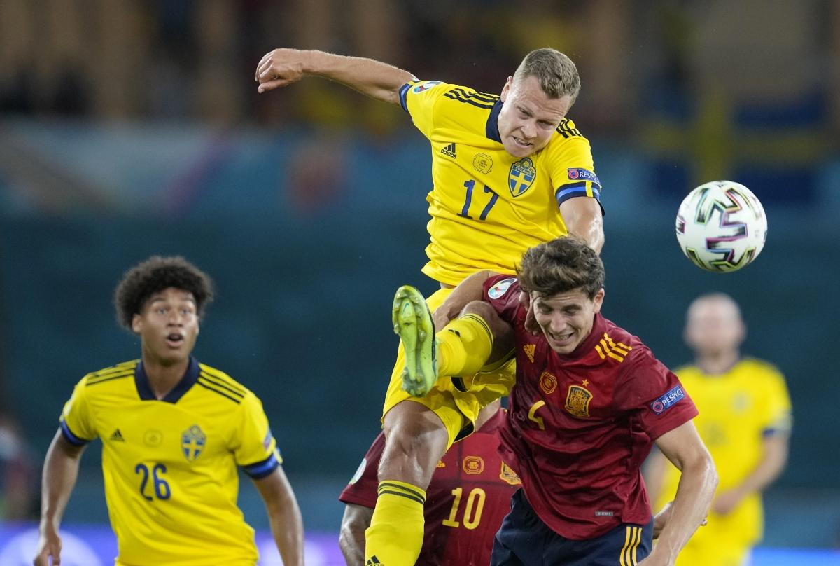 Thụy Điển chơi phòng ngự rất tốt (Ảnh: Reuters).