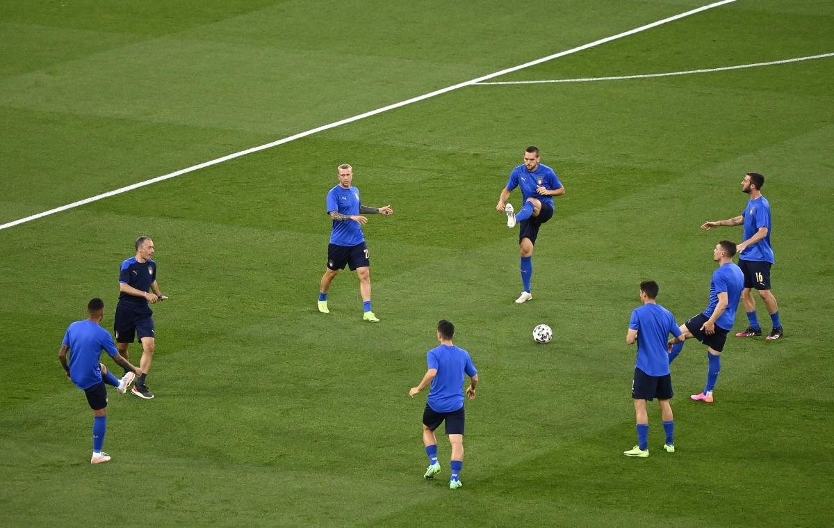 ĐT Italia tiến sát tấm vé vào vòng knock-out? (Ảnh: Reuters).