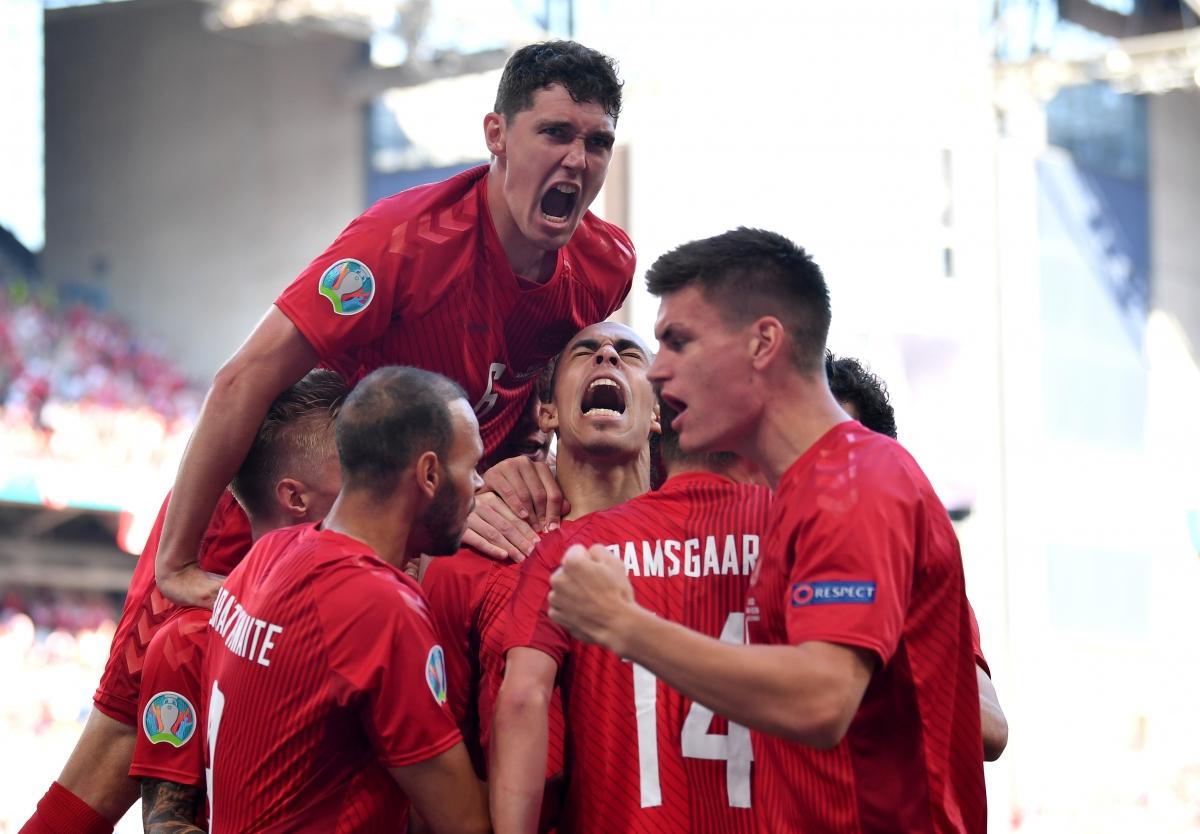 Đan Mạch khởi đầu như mơ. (Ảnh: Reuters)