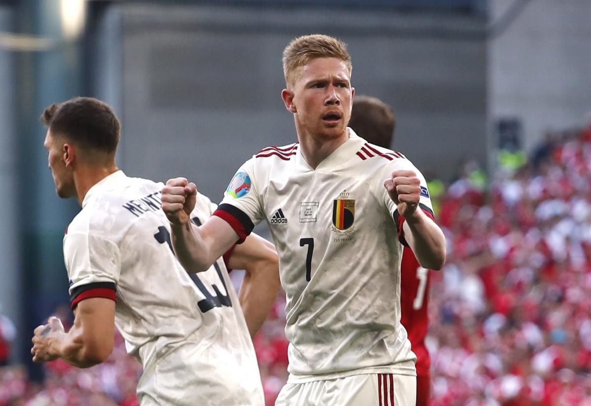De Bruyne ghi dấu ấn chỉ ít phút sau khi vào sân. (Ảnh: Reuters)