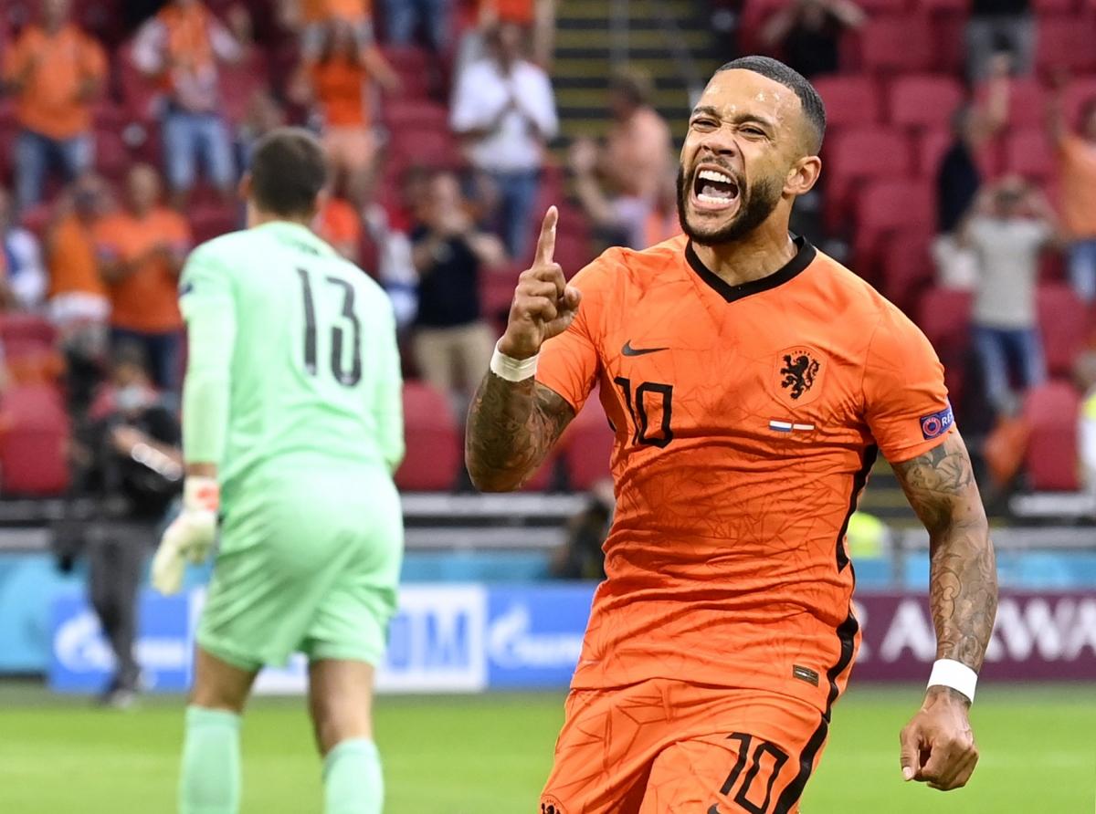 Memphis Depay có bàn thắng đầu tiên tại EURO 2021 sau khi thi đấu vô duyên ở trận gặp Ukraine.