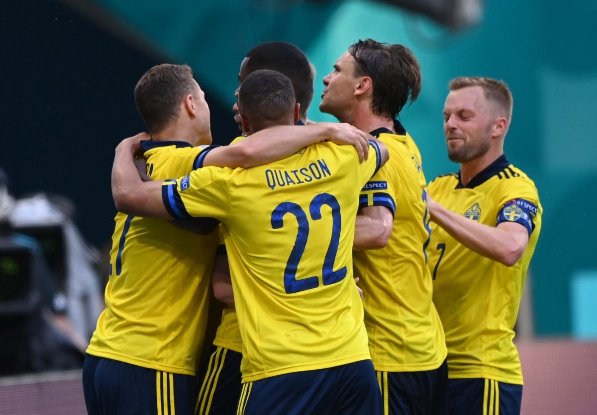 Thụy Điển có chiến thắng đầu tiên ở EURO 2021. (Ảnh: Reuters)