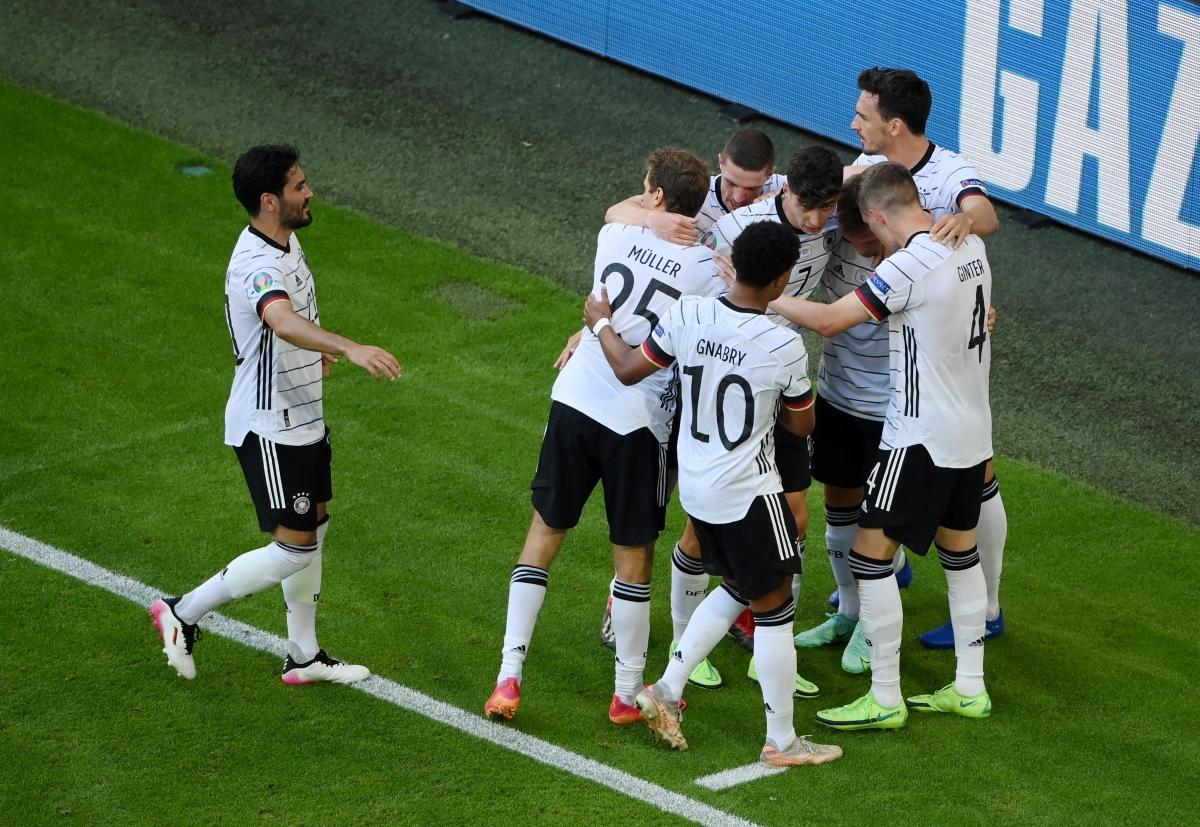 Đức chiến thắng ấn tượng trước Bồ Đào Nha (Ảnh: Reuters).