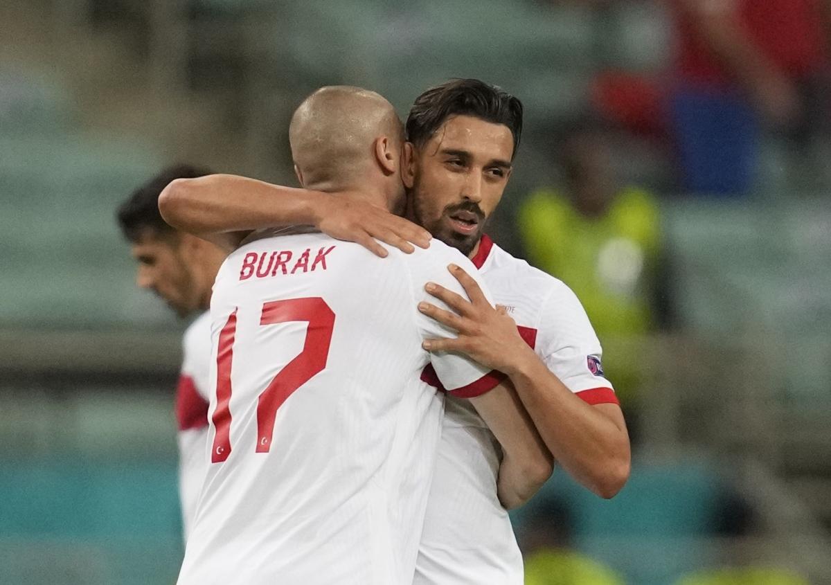Sau khi Thổ Nhĩ Kỳ ghi bàn, chỉ còn Scotland chưa có bàn nào ở EURO 2021. (Ảnh: Reuters)