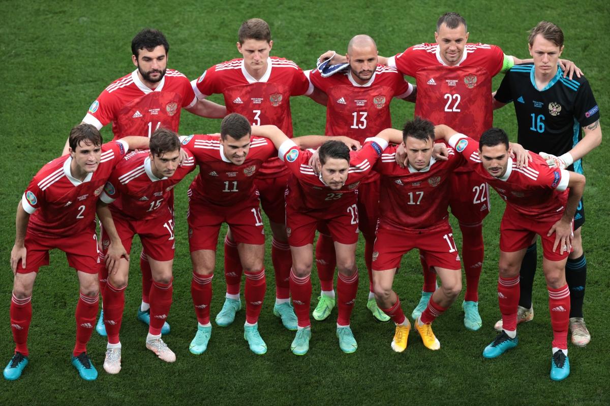 Đội hình xuất phát của Nga. (Ảnh: Reuters)