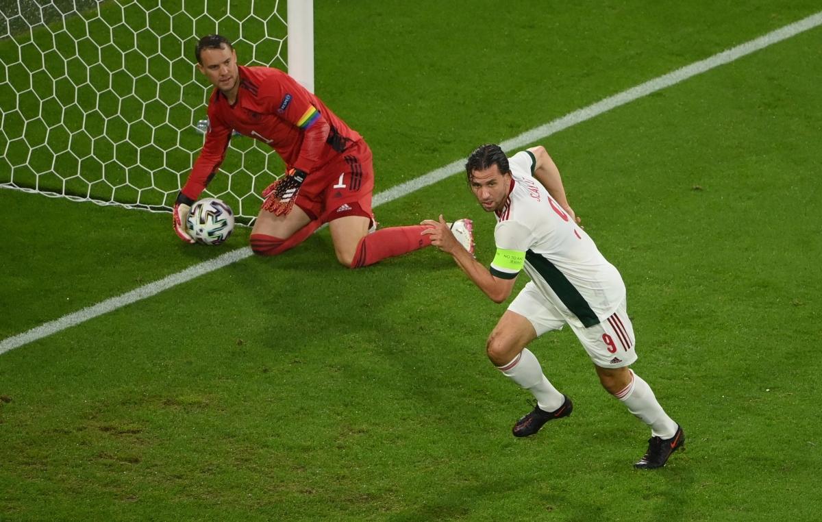 Hungary gây bất ngờ trước Đức. (Ảnh: Reuters)