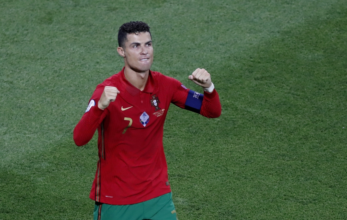 Ronaldo thiết lập cột mốc ấn tượng sau trận đấu với Pháp (Ảnh: Reuters).