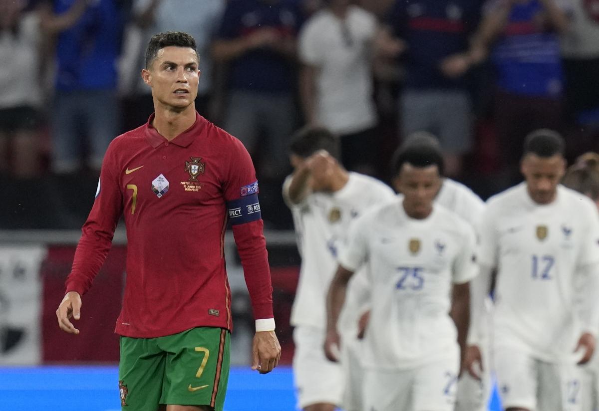 Bồ Đào Nha từ vị trí thứ hai rơi xuống vị trí cuối cùng tại bảng F.