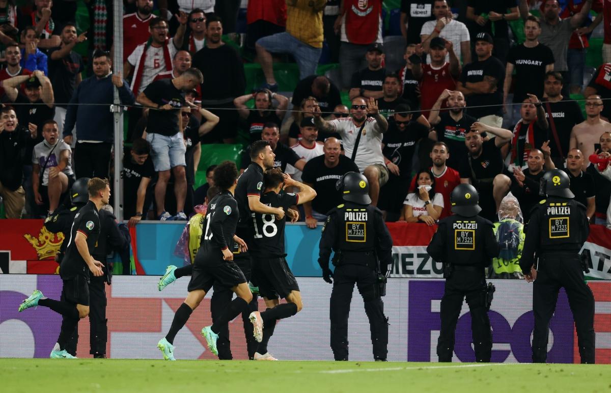 Goretzka giải cứu Đức và tiễn Hungary rời cuộc chơi. (Ảnh: Reuters)