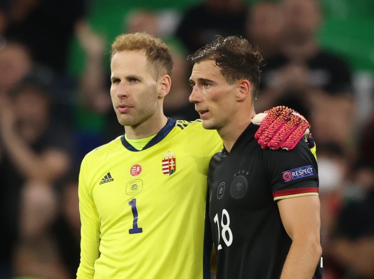 Đức và Hungary tạo ra màn rượt đuổi tỷ số kịch tính ở Allianz Arena. (Ảnh: Reuters)