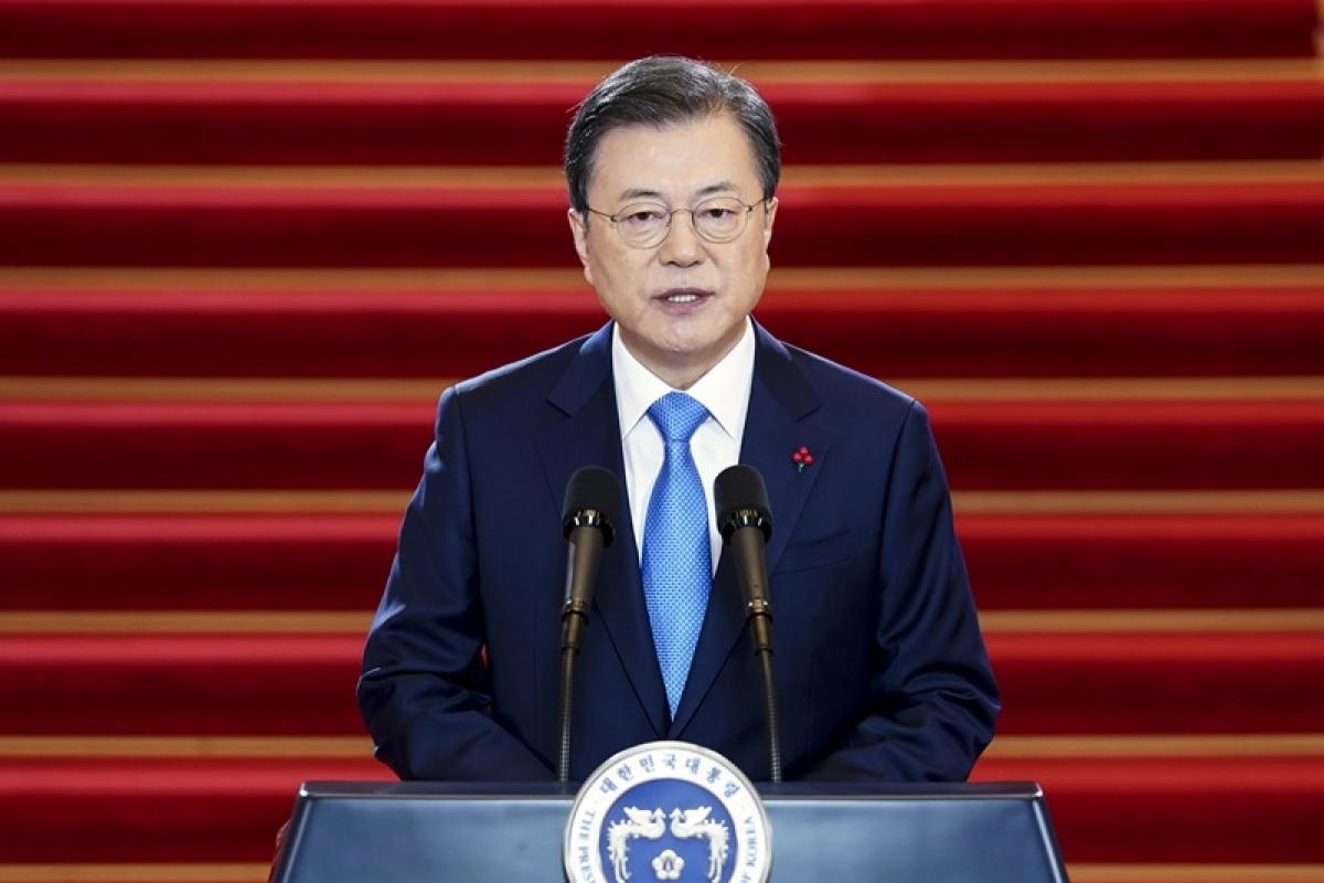 Tổng thốngMoon Jae-in. Ảnh: Korea.net