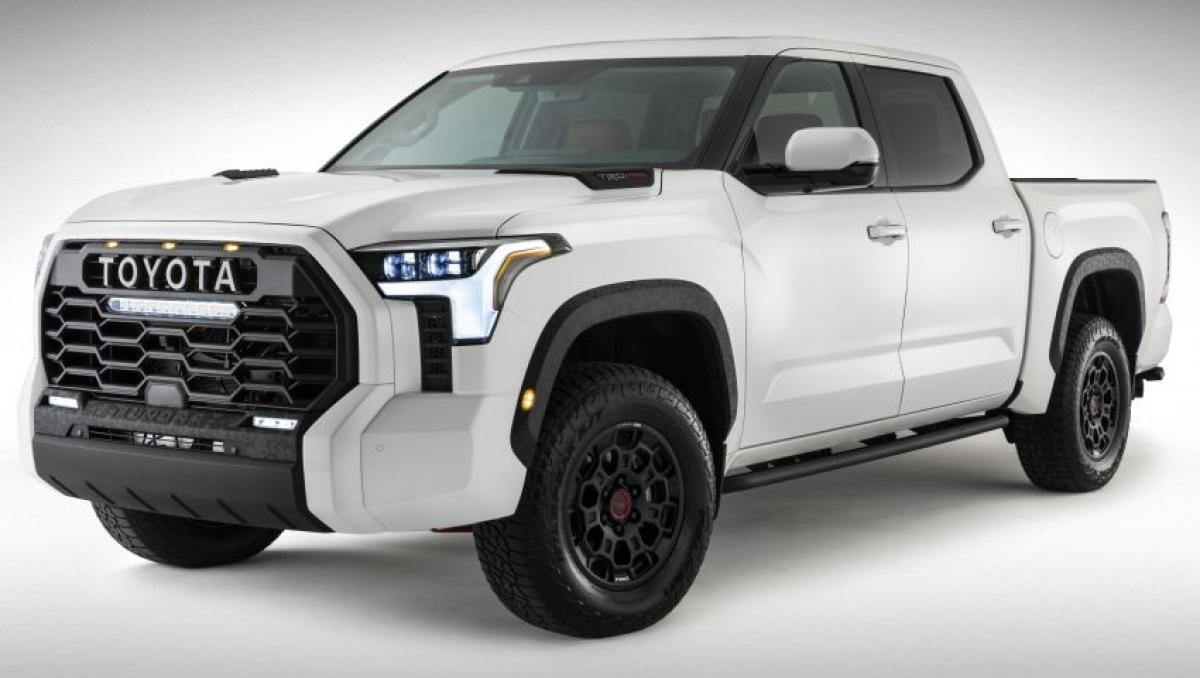 Hình ảnh chính thức của Toyota Tundra thế hệ mới.
