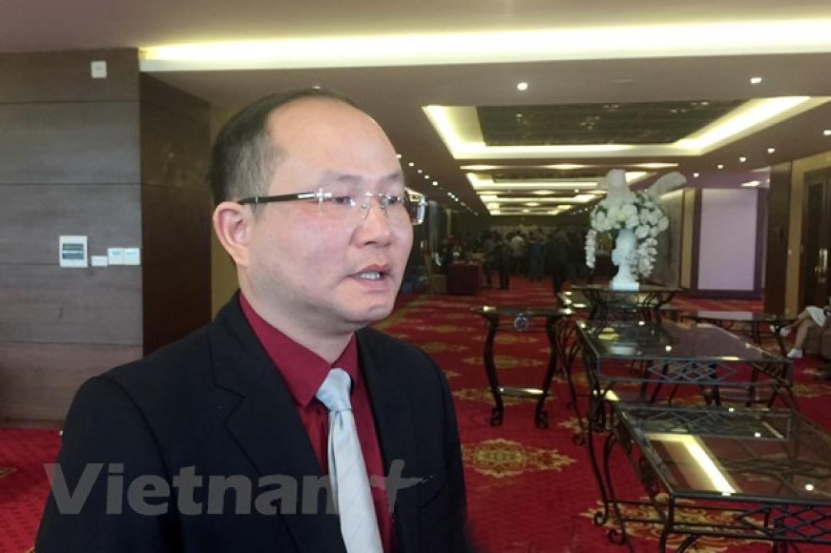 Phó Giáo sư, Tiến sĩ Tường Duy Kiên, Viện trưởng Viện Nghiên cứu quyền con người, Học viện Chính trị Quốc gia Hồ Chí Minh. Ảnh: TTXVN.