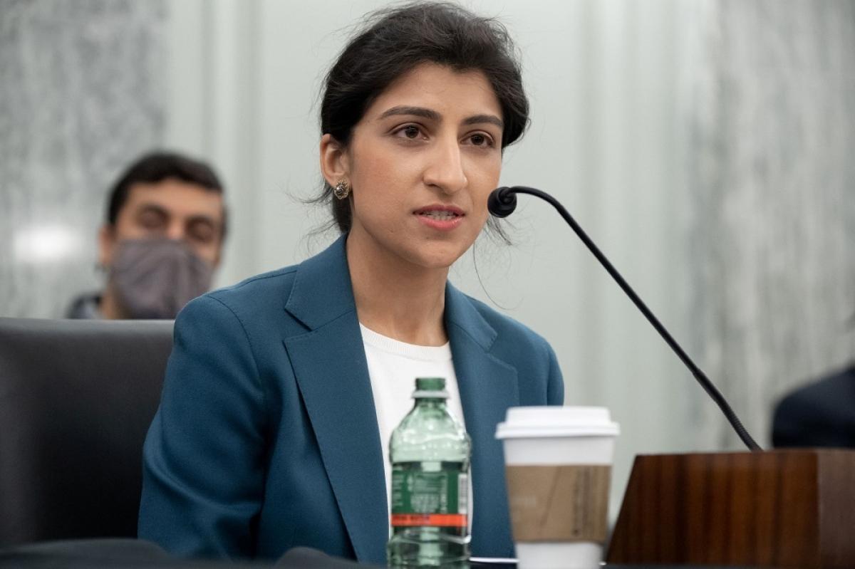 Bà Lina Khan, tân Chủ tịch Ủy ban Thương mại Liên bang Mỹ - Ảnh: CNBC.