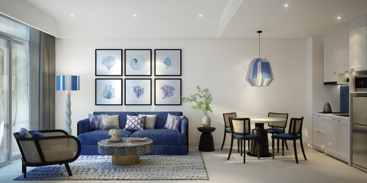 Kiến trúc nội thất phong cách Santorini ở căn hộ The Hill.