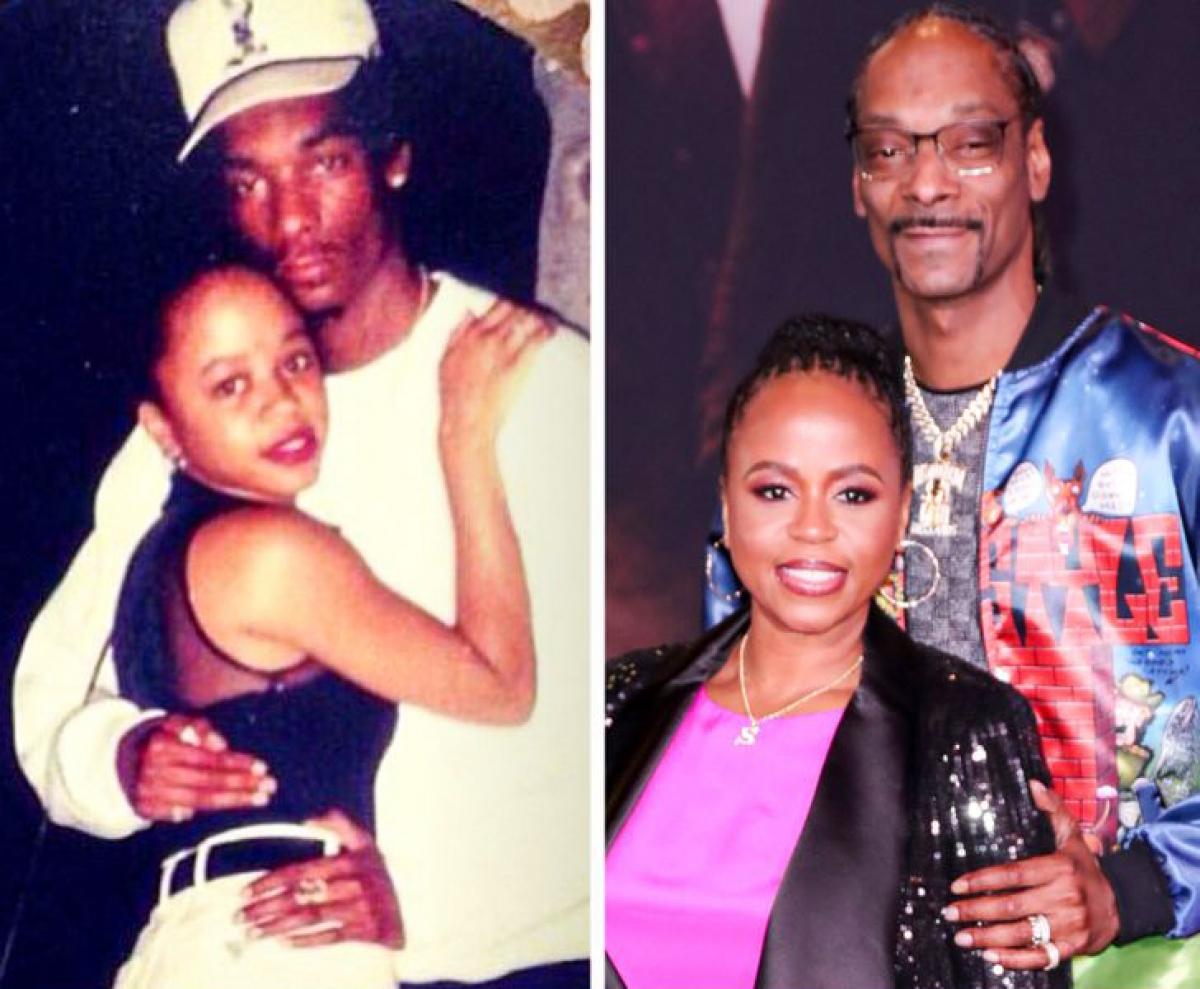 Snoop Dogg và Shante Broadus:Rapper đã gặp vợ Shante khi họ còn là học sinh trung học.Họkết hônvào năm 1997. Dù đã đệ đơn ly hôn vào năm 2004 nhưng họ vẫn ở bên nhau và có 3 người con.Họ nối lại lời thề trong đám cưới vào năm 2008 và không thể tách rời kể từ đó.