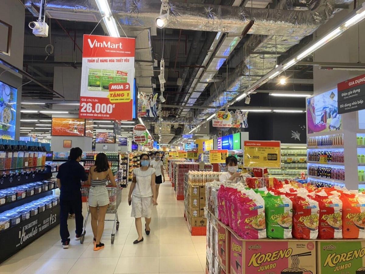 VinMart/VinMart+ đảm bảo nguồn cung hàng hóa, thực phẩm thiết yếu, ổn định giá thành, chất lượng sản phẩm.