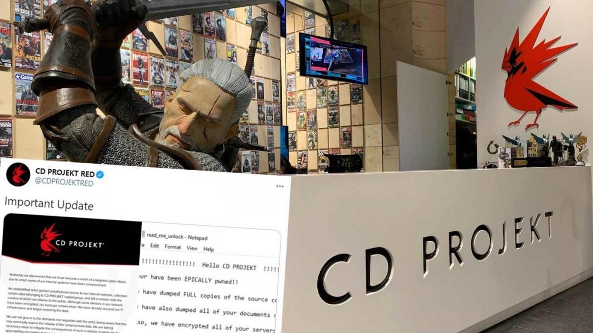 Trước đó CD Projekt cũng bị tin tặc hỏi thăm.