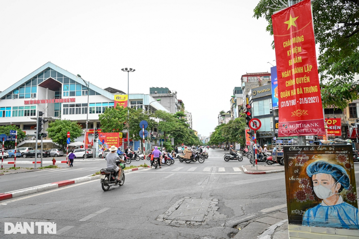 The initiative is launched by the Veterans Association of Hai Ba Trung district and Youth Union of Bach Khoa ward.