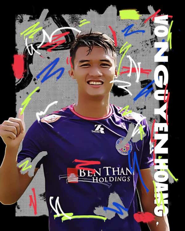 Attacker Nguyen Hoang (Photo: GOAL)