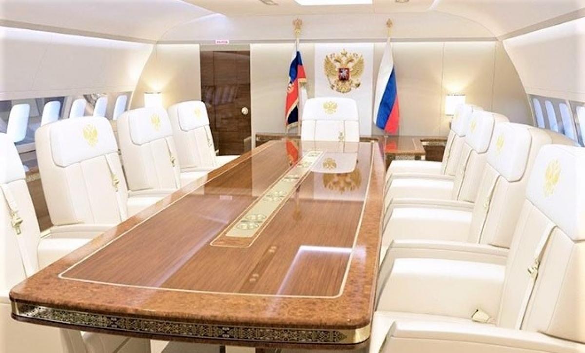 """""""Điện Kremlin bay"""" được trang bị các thiết bị đầu bảng được sản xuất trong nước; Nguồn: samoletos.ru"""