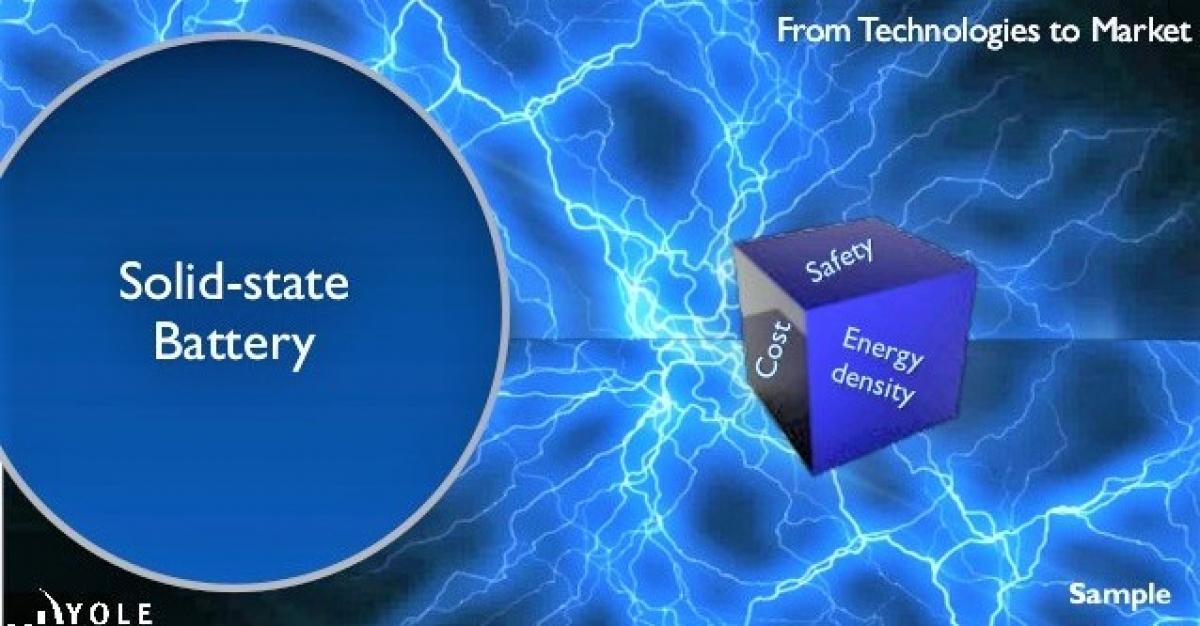 So với việc sử dụng chất điện phân lỏng, pin thể rắn sở hữu một loạt các ưu điểm; Nguồn: slideshare.net.