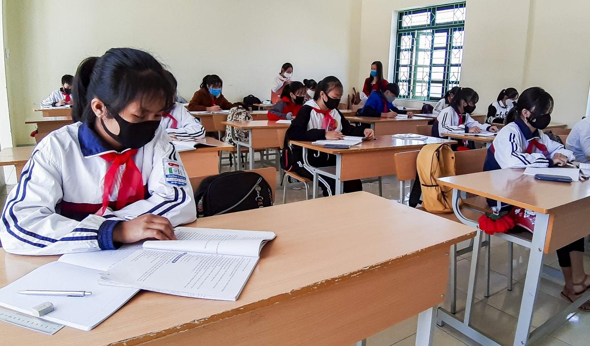 Hiện nay các cơ sở giáo dục tại Điện Biên đang tập trung ôn tập, củng cố kiến thức cho học sinh, đảm bảo cho kỳ thi tốt nghiệp THPT.