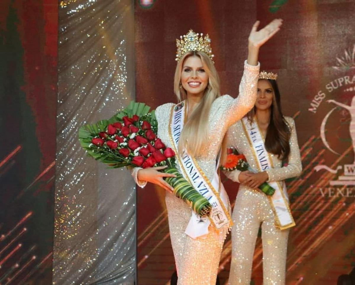 Với chiến thắng này, Valentina Sánchez sẽ đại diện Venezuela tham gia tranh tài tại cuộc thi Hoa hậu Siêu quốc gia thế giới tổ chức tại Ba Lan vào tháng 8/2021 tới đây.
