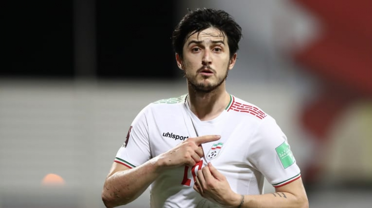 4. Sardar Azmoun (IR Iran) | 3 trận (226 phút): 3 bàn thắng