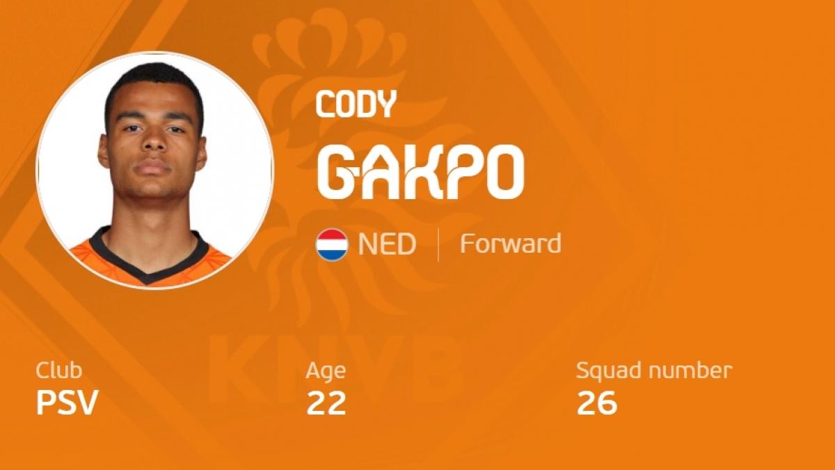 4. Cody Gakpo 33,6 km/h.