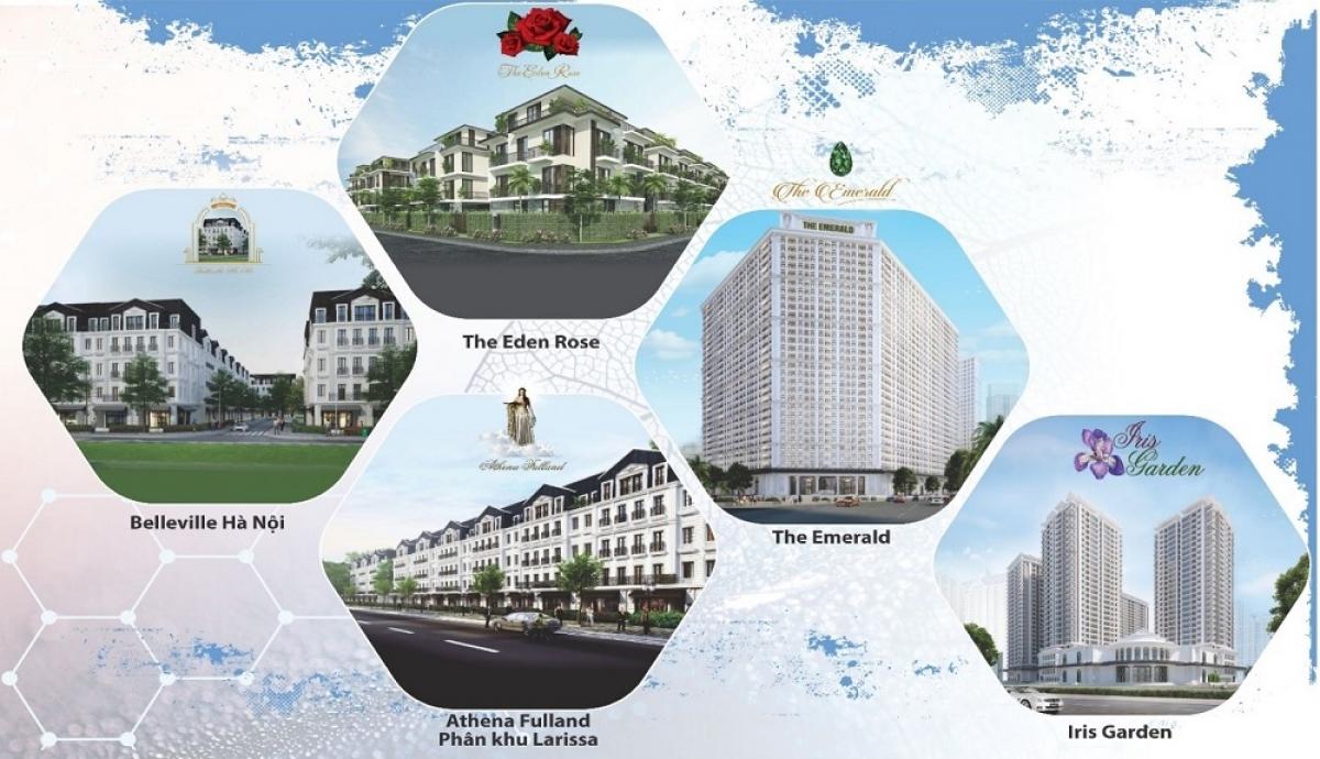 Hình ảnh các dự án đã bàn giao mang thương hiệu Vimefulland
