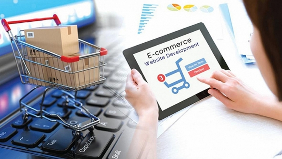 Từ 2022, sàn thương mại điện tử phải kết nối thông tin với cơ quan thuế. (Ảnh minh họa: KT)