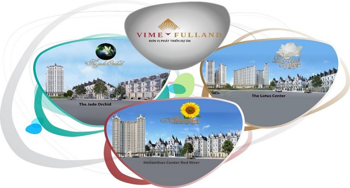 Hình ảnh các dự án đang giao dịch mang thương hiệu Vimefulland