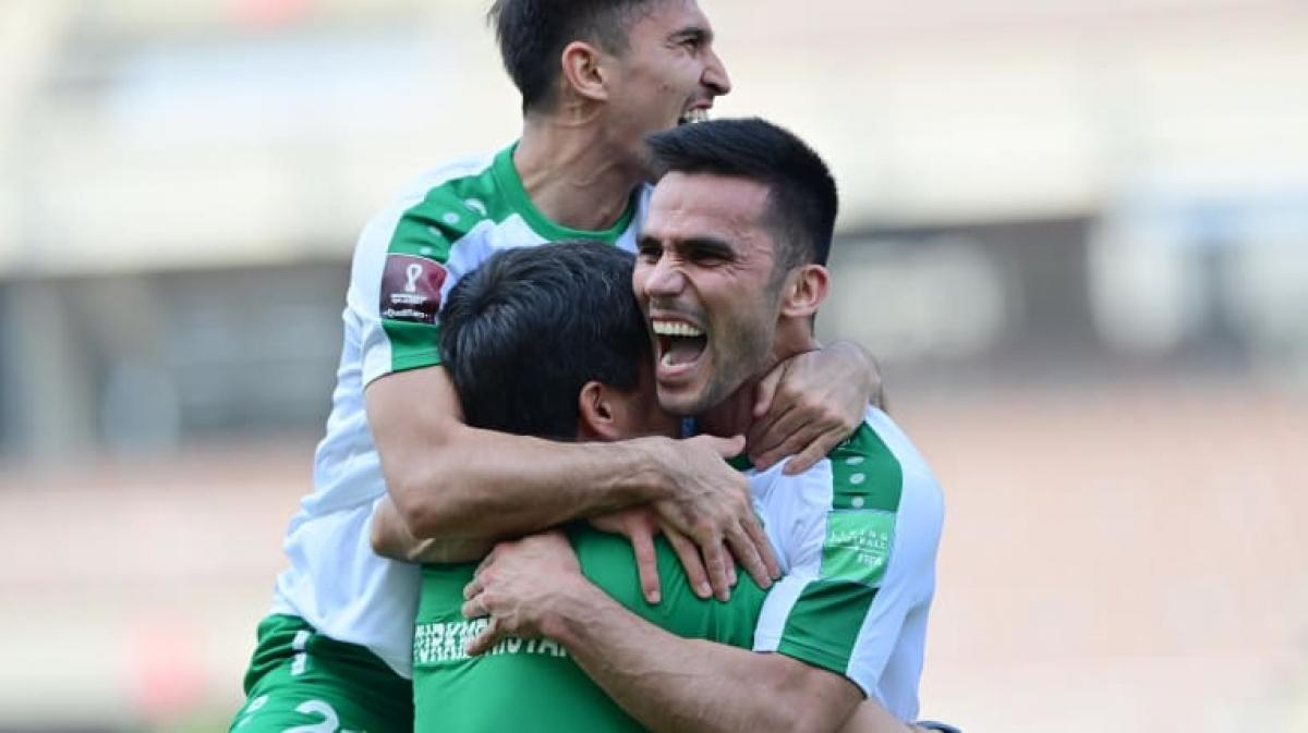 Turkmenistan bất ngờ đánh bại Lebanon (Ảnh: AFC).