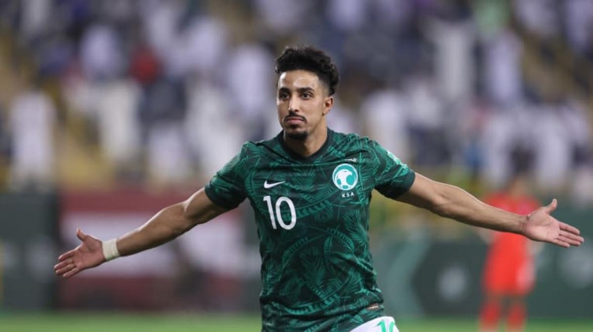 5. Salem Al Dawsari (Saudi Arabia) | 3 trận (270 phút): 2 bàn thắng, 4 pha kiến tạo