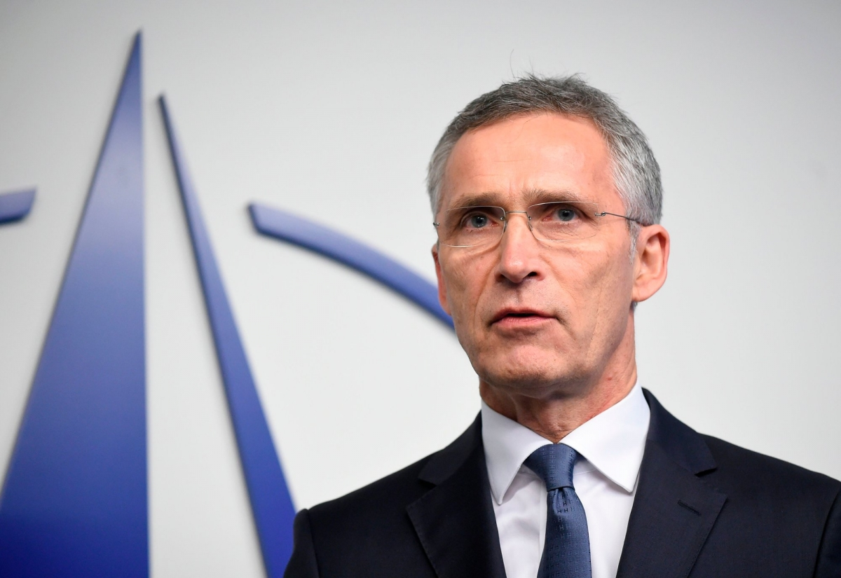Tổng thư ký Tổ chức Hiệp ước Bắc Đại Tây Dương (NATO) Jens Stoltenberg. Ảnh: Nettavisen
