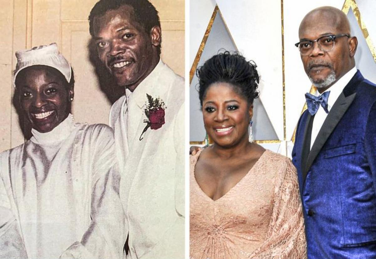 Samuel L. Jackson và LaTanya Richardson Jackson:Nam diễn viên và vợ LaTanya Richardson gặp nhau khi cả hai còn làsinh viênđạihọc.Cặp đôi kết hôn vào năm 1980 và cố gắng ổn định cuộc sống hôn nhân dù sự nghiệp bận rộn.