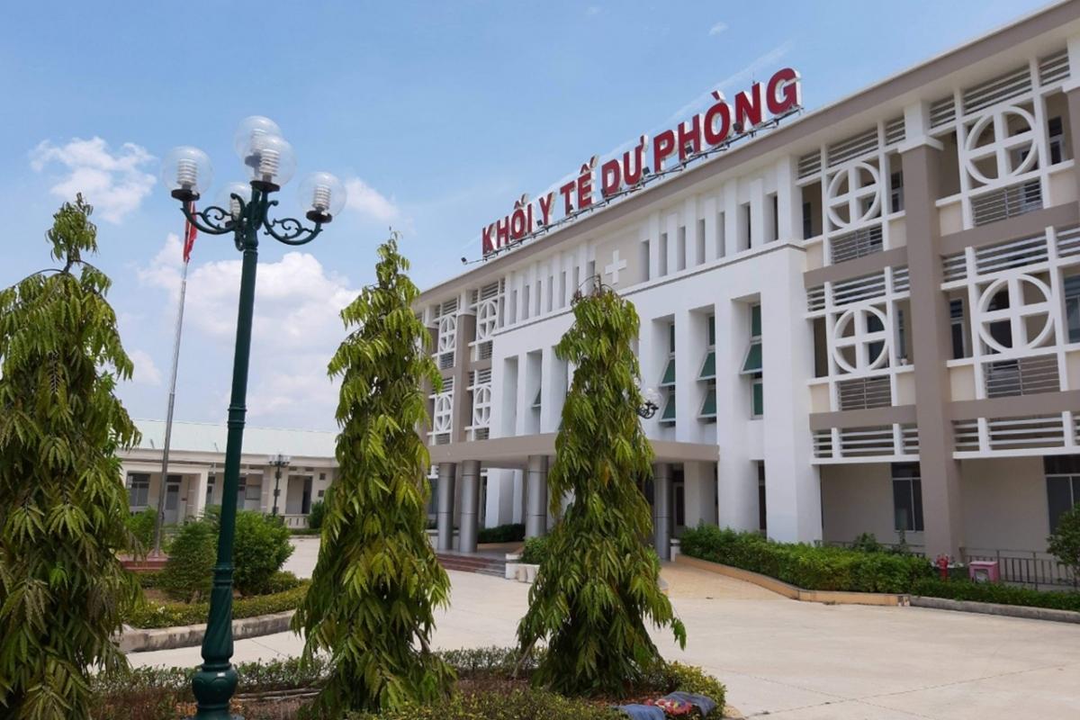 Bệnh viện đa khoa Cần Đước Long An hoạt động trở lại từ sáng nay 3/6.