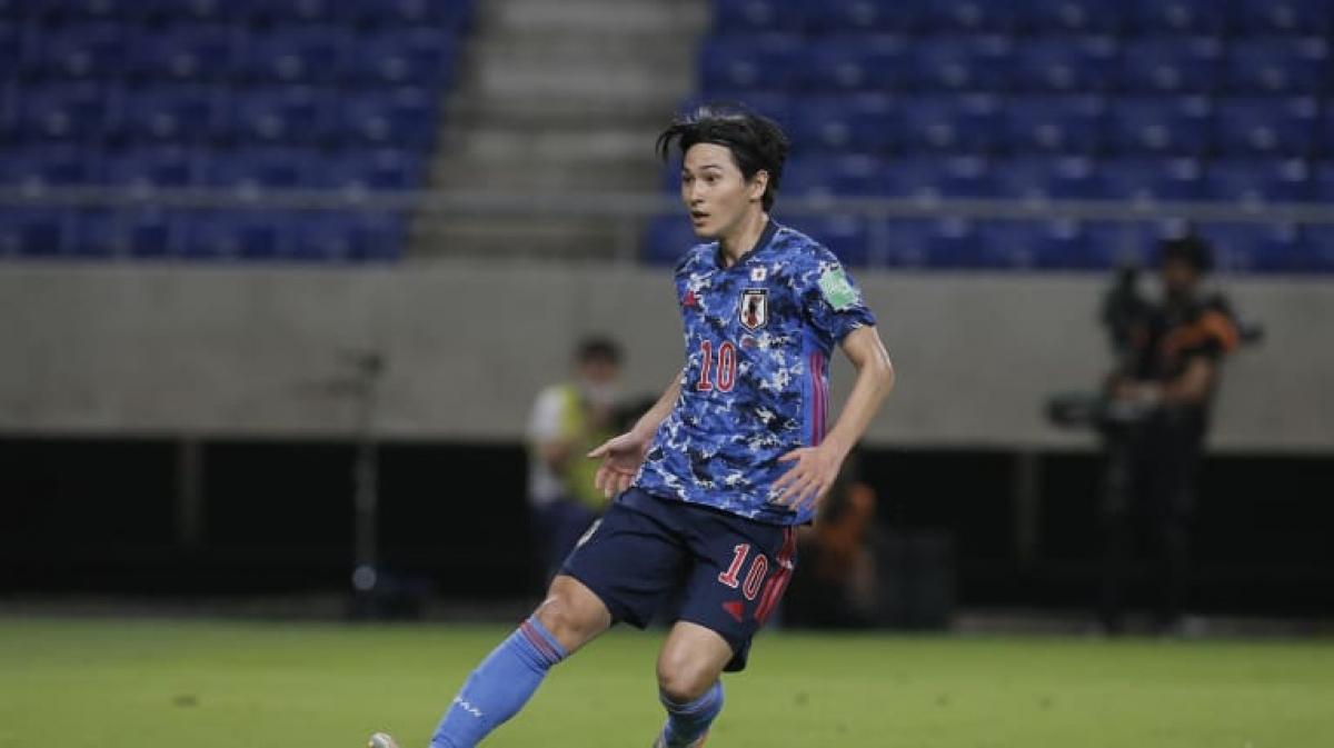 7. Takumi Minamino (Nhật Bản) | 2 trận (141 phút): 3 bàn thắng, 2 kiến tạo