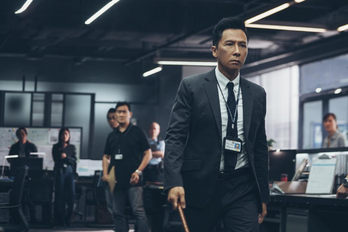 """Chân Tử Đan với vai diễn trong phim """"Raging Fire"""". Nguồn: SCMP"""