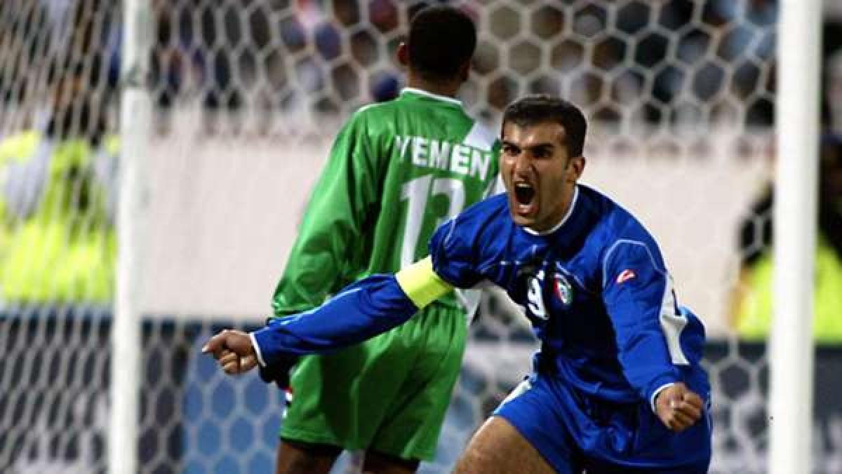 9. Bashar Abdullah   Kuwait   75 bàn thắng/133 trận đấu